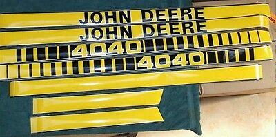 John Deere 4040 Hood Decals. Great Quality.
