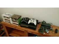 Xbox 360 Elite 120gb w/ 22 games plus peripherals