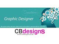 Graphic Designer Available - freelance adhoc work