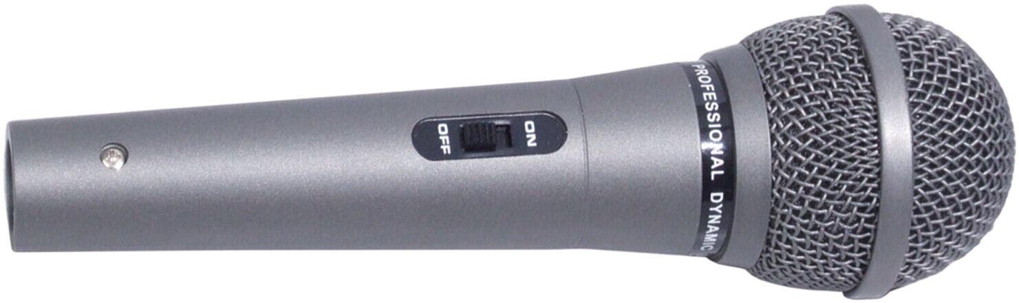 Soundlab G158MA dynamisches Mikrofon inkl. Kabel 6,3mm Klinke Gesang Karaoke NEU