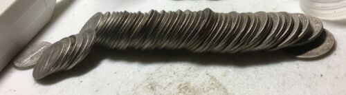 AVERAGE CONDITION ROLL OF TEEN/20'sMERCURY DIMES (50), GREAT DATE MIX & MM'S