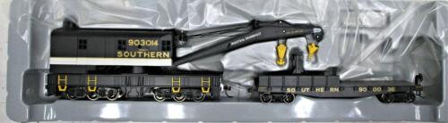 ATHEARN RTR7527 SOUTHERN RAILWAY 200-TON CRANE & TENDER #45218,31187 HO SCALE
