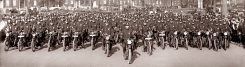 1914   NYPD INDIAN POLICE MOTORCYCLE