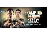Frampton Reborn two tickets £230 Ono