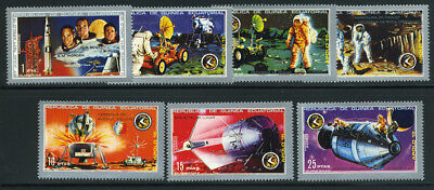 Space Apollo 15 Mission Landing   Mnh Set From Equatorial Guinea