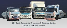Heavy Recovery Driver