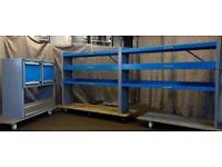 Bott Van racking, Van shelving, Van Drawers, pipe tray B144