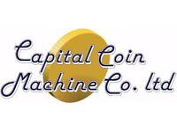 Cash Collector for Amusement Machine Company