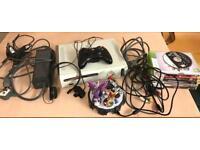 Xbox 360 console plus accessories & games.