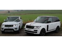 !!!! New Model Range Rover Vogue & Range Rover Sport Wedding Cars !!!