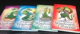 The dragons for Wayward Crescent children's book set