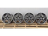 "17"" Fox alloys pcd 5x120 Bmw , renault master"