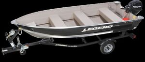 2016 Legend Boats 14 WideBody Bench ALL-IN PRICE, NO EXTRA FEES.