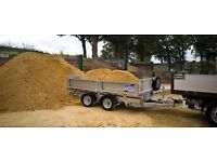 pea shingle aggregates gravel builders sharp sand stones free local delivery