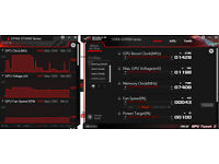 GTX 950 Asus Strix 2GB with 1504mhz boost clock capable