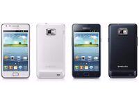 NEW Samsung Galaxy S2 GT-I9100 White/Black (UNLOCKED) Boxed