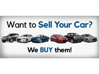 SELL YOUR CAR TO US TODAY FOR CASH. HASSLE FREE