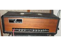 Wilsic Sound 100w vintage valve guitar amplifier bass amp Miles Platting