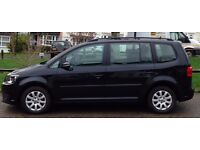 VW Touran 1.6L, 7 seats, diesel, manual, In very good condition
