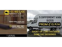 AFFORDABLE MAN AND VAN REMOVAL SERVICE FROM £15P/H, LOCAL, NATIONAL & EUROPE (YR BRNCLM)