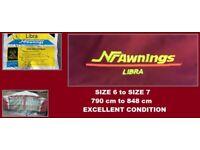 Caravan Awning NR LIBRA Size 6 to Size 7