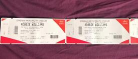 2x Robbie Williams Tickets