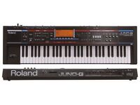 Roland Juno-G 128 Voice Expandable Synthesizer with AUDIO/MIDI Song Recorder WITH Case