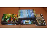 Ben 10 Alien Force The Complete DVD Collection Box set (9 discs).