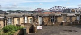 Fully furnished 2 bedroom victorian flat in South Queensferry, with views of the bridges