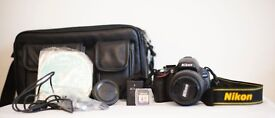 Nikon D5100 with full kit - Mint Condition