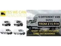 AFFORDABLE MAN AND VAN REMOVAL SERVICE FROM £15P/H, LOCAL, NATIONAL & EUROPE (YR KLB)