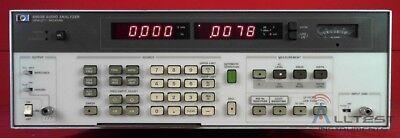 Hp 8903b Audio Analyzer 20 Hz To 100 Khz