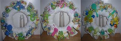 Diaper Wreaths (Baby Shower Frog Diaper)
