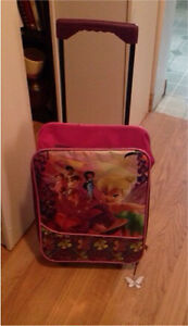 Two Child-sized suitcases, Disney