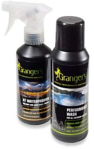 Granger's Dual Care kit for Outerwear