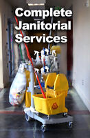 CLEANING/ JANITORIAL services.specializing in small  offices.