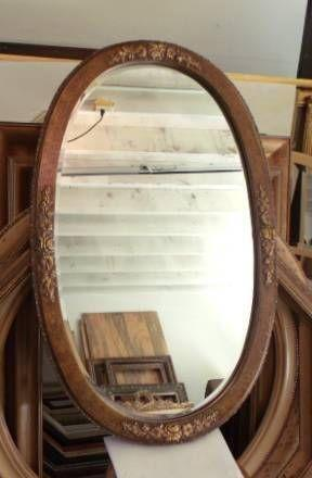 Large Oval Wall Mirror Ebay
