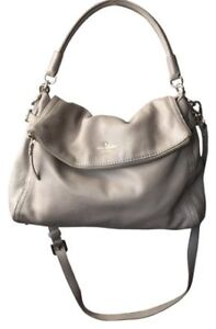 Authentic Kate Spade bag Oyster Gray-$100 OBO