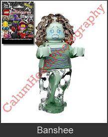 LEGO Minifigures Series 14 Monsters - Banshee. New & Unopened