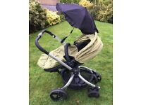 Mothercare Spin 360 3-in-1 Travel System – Pram, Car Seat and Push Chair all-in-one