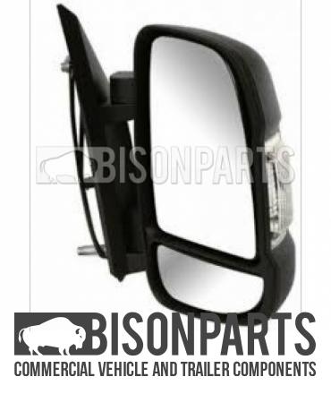 """Unitruck Mirror Head Glass Flat Replacement Head Size 7x5/"""" 188x135mm Oval 7105F"""
