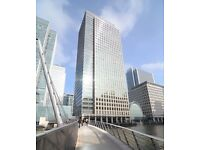 Flexible Office Space for Rent in London Canary Wharf from £500 p/m