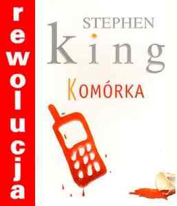 polish book KOMORKA -  STEPHEN KING polska ksiazka