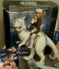 Star wars hans solo and tauntaun