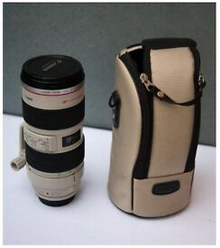Barely used Canon L lens EF 70-200 f. 2.8 IS I USM