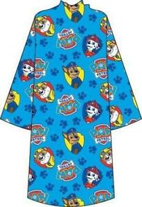 Paw Patrol Blanket Buddy with Sleeves Kids Fleece Blanket Wrap [ Blue ]