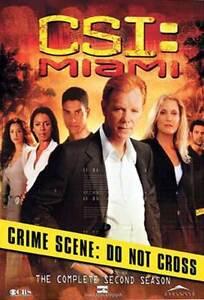 CSI Miami The Complete Second Season DVDs