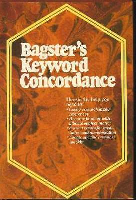 Bagsters Keyword concordance