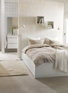 MALM BED FRAME W/4DRAWERS QUEEN Carnegie Glen Eira Area Preview