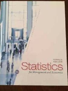 Statistics for management and economics 10th edition, Keller